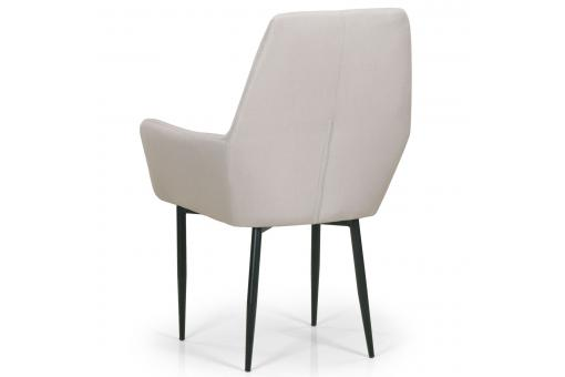 Fauteuil Design Tissu Beige COULICO ME257391-0000
