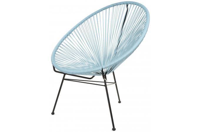 fauteuil zimaculto bleu ardoise design sur sofactory. Black Bedroom Furniture Sets. Home Design Ideas