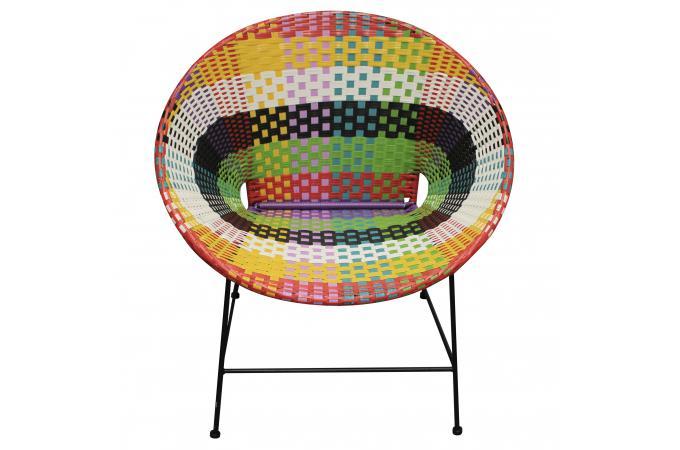 Fauteuil Multicolore ZIMACULTO Design Sur SoFactory - Fauteuil multicolore design