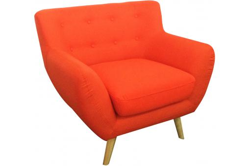 Fauteuil scandinave ALICE Orange UN182870-68362