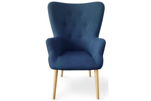 fauteuil scandinave bleu dorig design sur sofactory. Black Bedroom Furniture Sets. Home Design Ideas