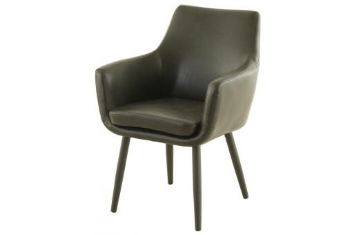 fauteuil scandinave avec accoudoirs noir seta design sur sofactory. Black Bedroom Furniture Sets. Home Design Ideas