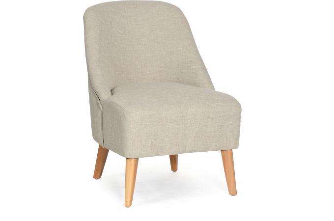 fauteuil scandinave beige atome design sur sofactory. Black Bedroom Furniture Sets. Home Design Ideas