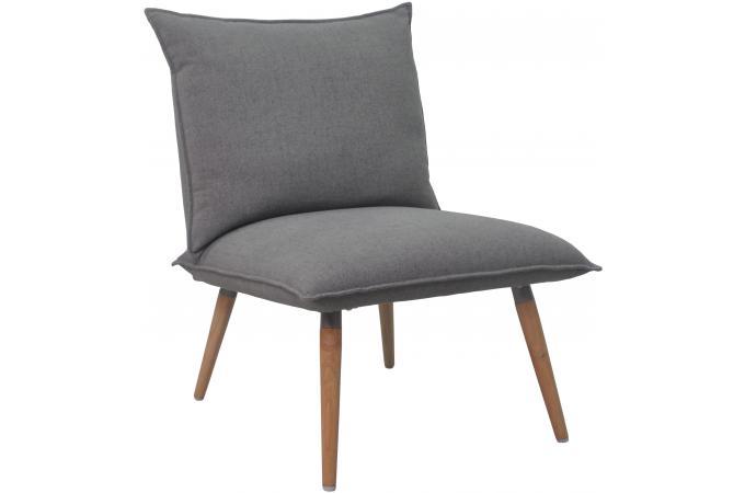 fauteuil scandinave gris bumo design sur sofactory. Black Bedroom Furniture Sets. Home Design Ideas