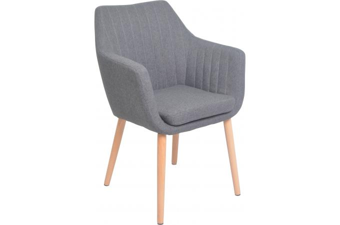 fauteuil scandinave gris naki design sur sofactory. Black Bedroom Furniture Sets. Home Design Ideas