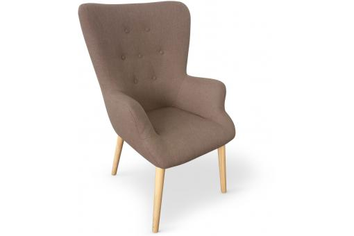Fauteuil Bois Taupe ME247535-0000