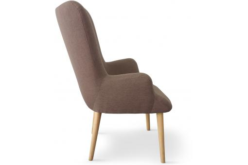 Fauteuil Scandinave Taupe REIGNIER ME247535-0000