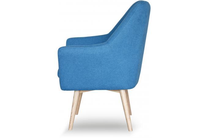 fauteuil scandinave tissu bleu anais design 187746 2 680x450 Résultat Supérieur 50 Unique Fauteuil Tissu Bleu Image 2017 Kjs7