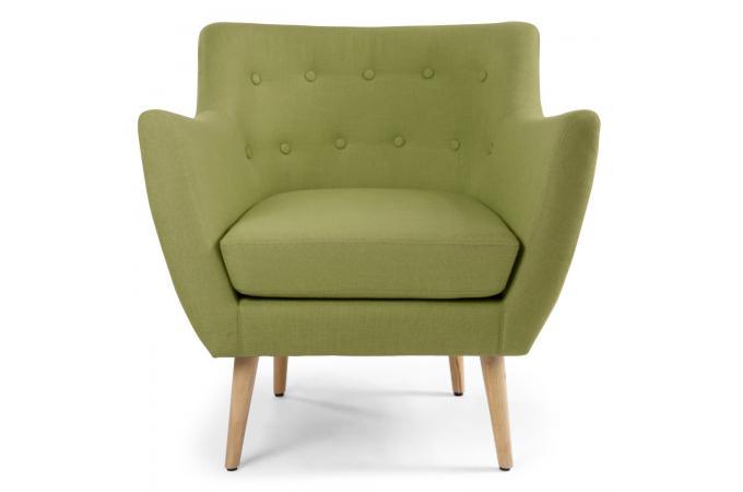 fauteuil scandinave tissu vert riska design 185344 680x450 39 Beau Fauteuil Vert Pas Cher Kjs7