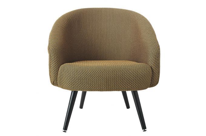 Moutarde Veltovi Fauteuil Jaune Tissu Design Sur Sofactory SMzVUpqG