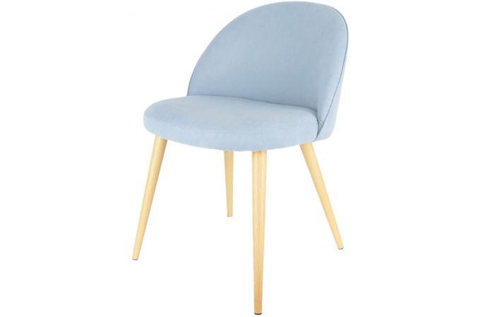 chaise vintage bleu izz design sur sofactory. Black Bedroom Furniture Sets. Home Design Ideas