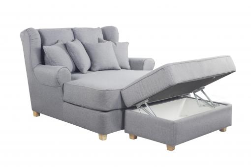 Fauteuil XXL Cosy Gris KIPS SI260159-0000