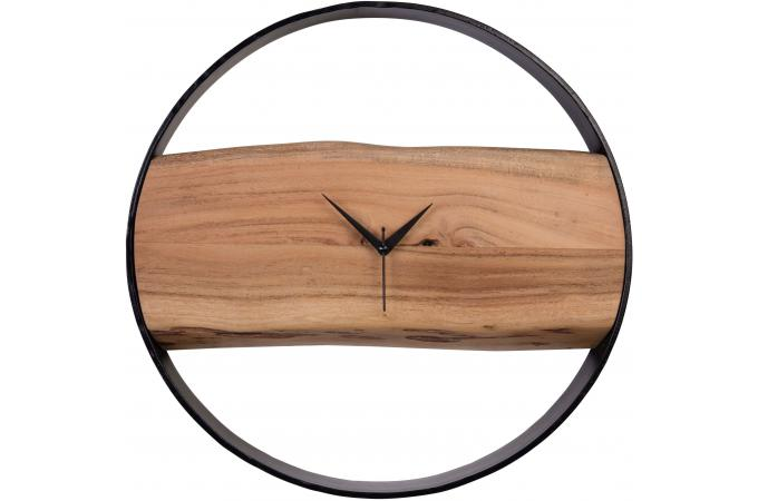 horloge murale en bois 45 cm ekko d co design sur sofactory. Black Bedroom Furniture Sets. Home Design Ideas