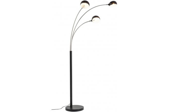 Lampadaire à 3 Branches Noir Landa Déco Design Sur Sofactory