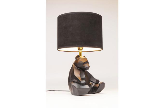 Déco À Noir Poser Design Sofactory Panda Sur Naiki Lampe QtxodBhCsr
