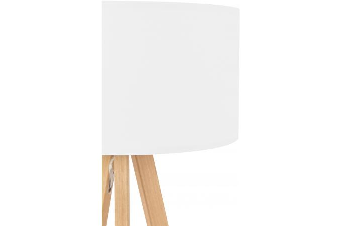 Lampe scandinave abat jour blanc born d co design sur - Abat jour scandinave ...