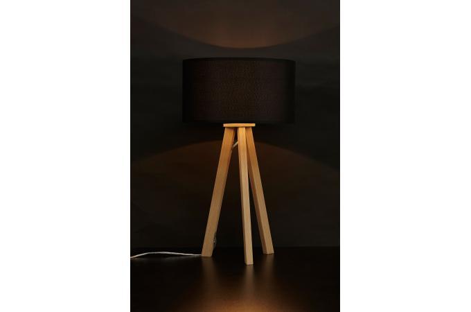 Lampe scandinave abat jour noir born d co design sur - Abat jour scandinave ...