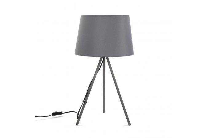 lampe sur 3 pieds gris myjim d co design sur sofactory. Black Bedroom Furniture Sets. Home Design Ideas