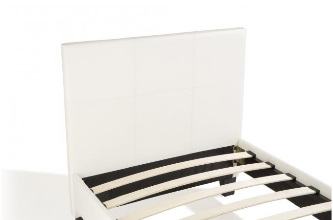 Lit 90x190 Blanc Bybo Design Sur Sofactory