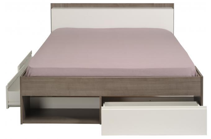 lit double avec rangement pas cher maison design