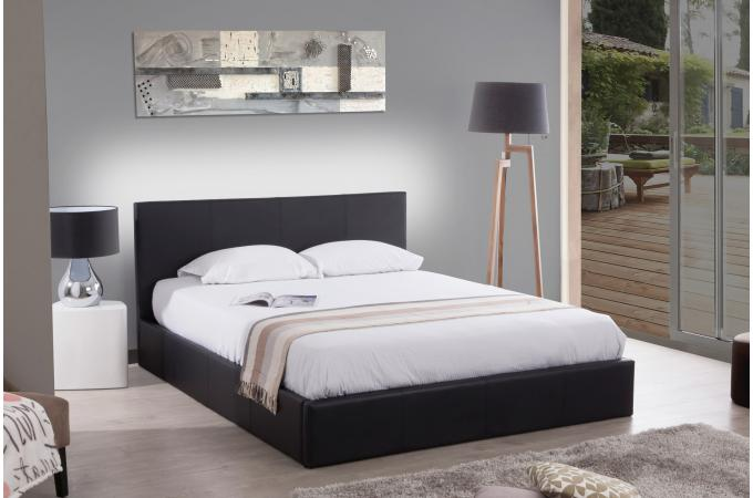 lit a coffre elegant lit coffre concerto sommier cm noir with lit a coffre lit coffre avec. Black Bedroom Furniture Sets. Home Design Ideas