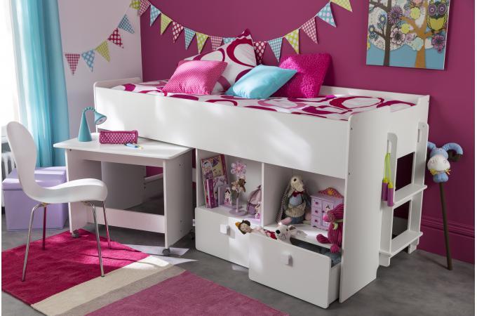 lit blanc de230142 0000 - Lit Combine Enfant
