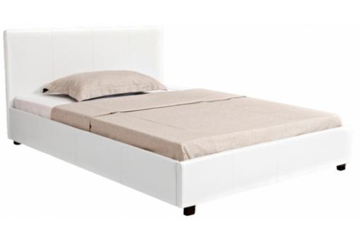 lit design blanc avec coffre 160 cm rio design en direct de l 39 usine sur sofactory. Black Bedroom Furniture Sets. Home Design Ideas