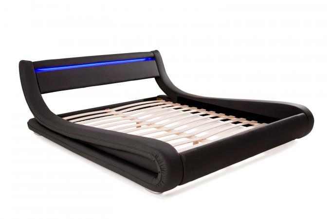 Lit Design LED X Noir FEREOL Design Sur SoFactory - Lit design a led