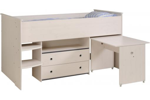 Lit Fonctionnel Pour Enfant En Pin SMOOTH SoFactory
