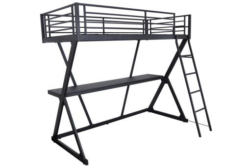 lit mezzanine 90x190 avec bureau int gr classroom design sur sofactory. Black Bedroom Furniture Sets. Home Design Ideas