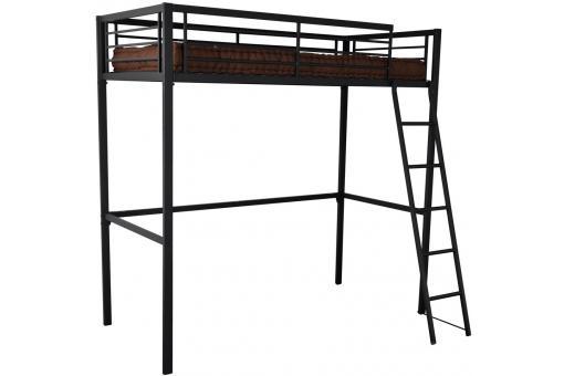lit mezzanine 90x190 anthracite rima design en direct de l 39 usine sur sofactory. Black Bedroom Furniture Sets. Home Design Ideas
