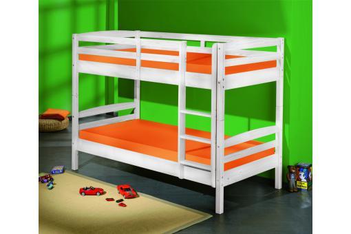 lits superpos s s parable blanc 90x190 yohan design sur sofactory. Black Bedroom Furniture Sets. Home Design Ideas