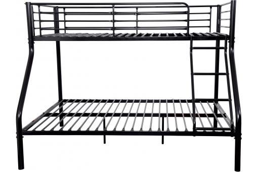 lits superpos s noir 90x190 et 140x190 leonny design sur sofactory. Black Bedroom Furniture Sets. Home Design Ideas