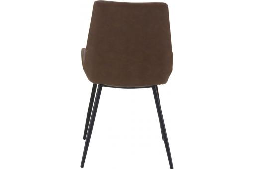Lot de 2 Chaises Marron COLAS Marron PR196714-0000