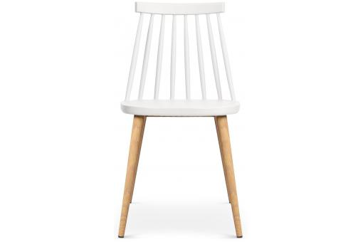 Lot de 2 chaises scandinaves blanches POLTA Blanc ME181996-0000