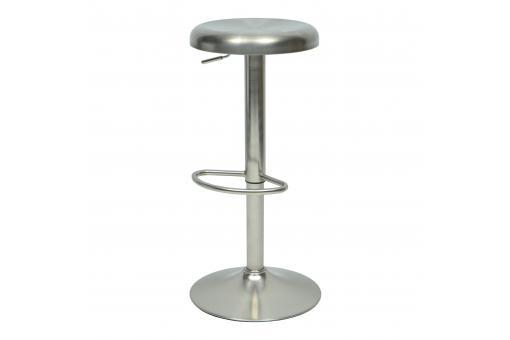 Tabouret de bar ajustable m tal valina design sur sofactory for Tabouret bar ajustable