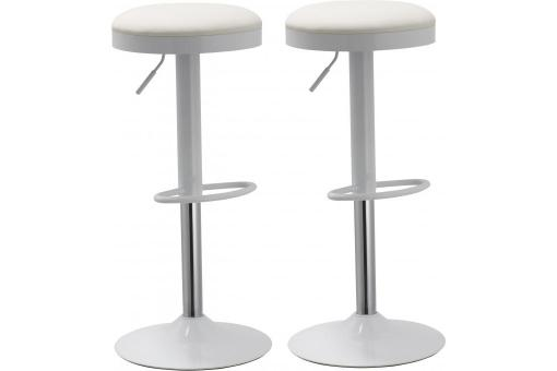 Tabouret de bar Blanc An171330-0000