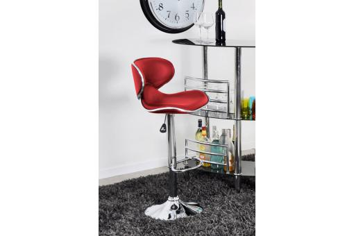 Tabouret de bar Rouge Lo186028-0000