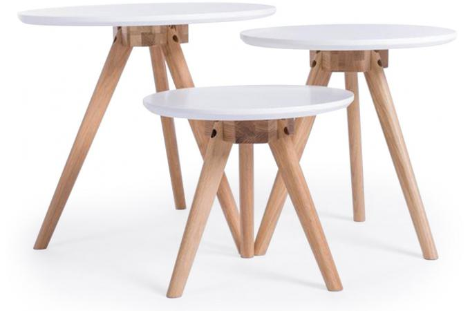 Table basse style scandinave pas cher - Table basse carree pas cher ...
