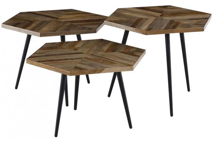Lot De 3 Tables Gigognes Bois Stills Design Sur Sofactory