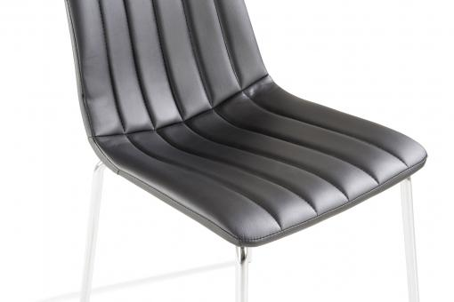 Chaise Sofactory Noir So295081-0000