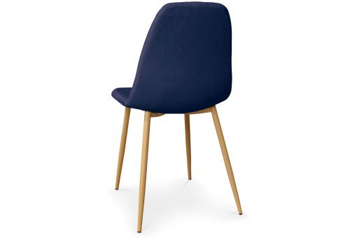Lot de 4 Chaises Scandinaves Bleues KAUVA ME223197-0000