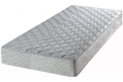 ensemble matelas 90x190 cm ressorts et sommier coton lattes 90x190 amigo design sur sofactory. Black Bedroom Furniture Sets. Home Design Ideas