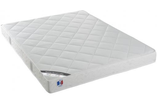 Matelas accueil latex 160 x 200 dream design pas cher sur sofactory - Matelas latex 160 x 200 ...