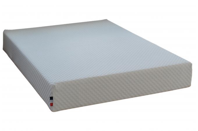matelas en latex et mousse m moire de forme 50kg m3 blanc h22 140x190 cm artemis design sur. Black Bedroom Furniture Sets. Home Design Ideas