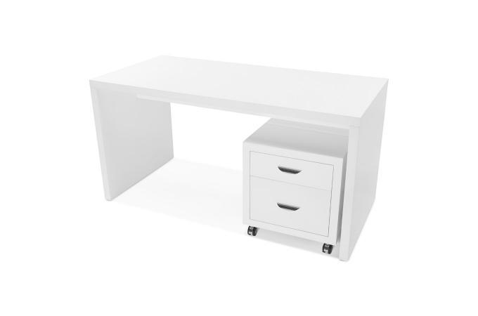 Meuble de bureau rangements blanc abanilla design sur sofactory