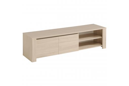 Meuble TV 2 Niches 2 Portes Beige VALERIE SoFactory