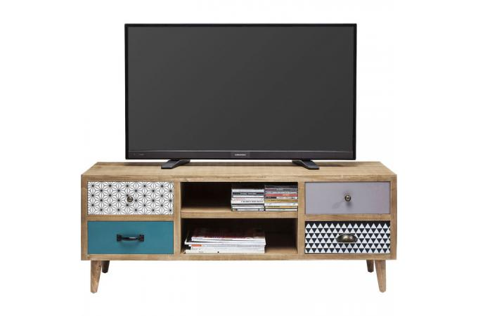 Meuble tv style scandinave capri design sur sofactory for Meuble nordique scandinave