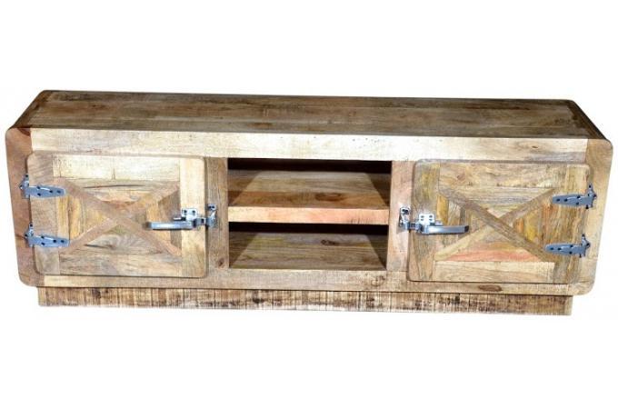 Meuble tv bas bois pas cher meuble tv bas bois blanc et chene design qualit - Meuble en bois pas cher ...