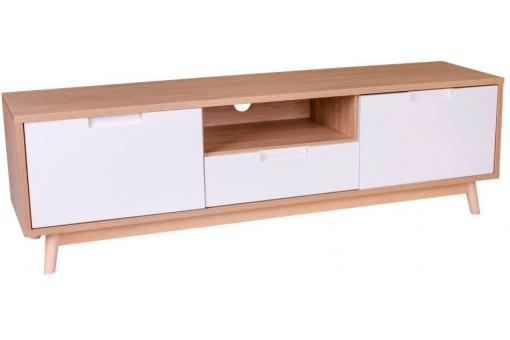 Meuble TV Scandinave Blanc URBAN SoFactory